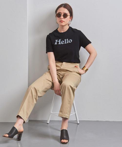 <MADISON BLUE(マディソンブルー)>HELLO ロゴ Tシャツ■■■