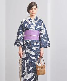 【WEB限定】<KAGUWA>カトレア 浴衣