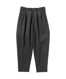 SPRING2020 2TUCK WIDE TAPERED PANTSグレー系その他