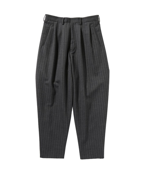 SPRING2020 2TUCK WIDE TAPERED PANTS