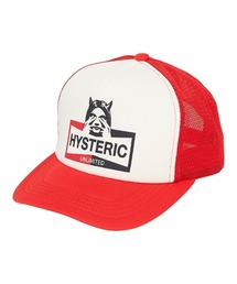 HYSTERIC UNLIMITED メッシュキャップレッド