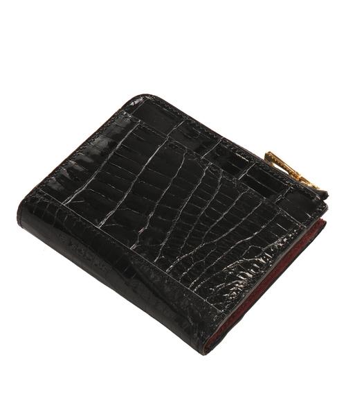 正規品 クロコダイルレザーミニ財布(財布)|sankyo shokai(サンキョウショウカイ)のファッション通販, アドヴァンス ジャパン:23e8b97a --- pyme.pe