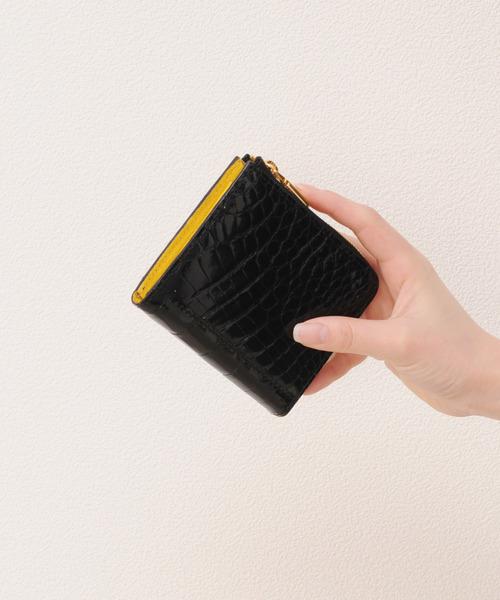 【18%OFF】 sankyoクロコダイルレザーミニ財布(財布)|sankyo shokai(サンキョウショウカイ)のファッション通販, ストーブとエアコンの店:9d197520 --- pyme.pe