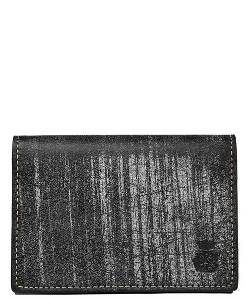 Paul Smith COLLECTION(ポールスミスコレクション)の「CARD CASE(PC WAX)【554839 J164】(名刺入れ)」|ブラック