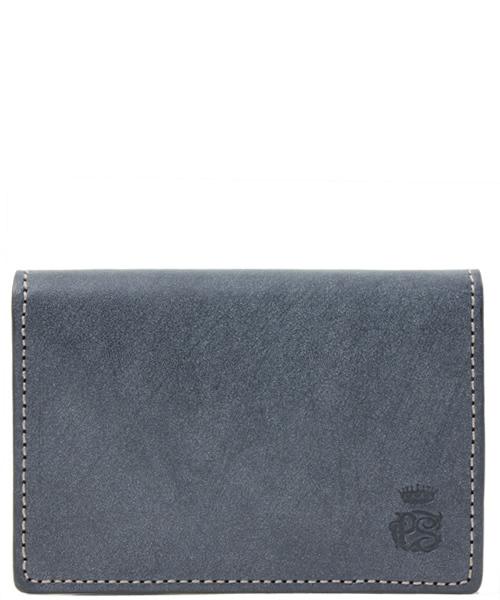 Paul Smith COLLECTION(ポールスミスコレクション)の「CARD CASE(PC WAX)【554839 J164】(名刺入れ)」|ネイビー