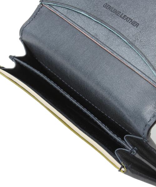 Paul Smith COLLECTION(ポールスミスコレクション)の「CARD CASE(PC WAX)【554839 J164】(名刺入れ)」|詳細画像