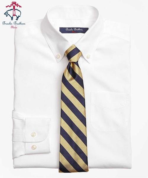 BOYS ノンアイロン ピンポイントオックスフォード ボタンダウンシャツ