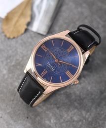 おしゃれスタ SELECT   MEN'S(オシャレスタ セレクト メンズ)の「【INTER SECTION】PUレザーベルト ウオッチ(腕時計)」