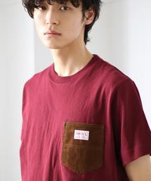 SMITH別注コーデュロイポケットTシャツ