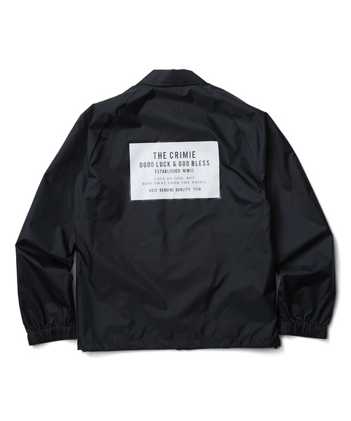 COACHES BOX LOGO JACKET