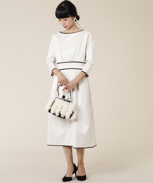激安通販の バイカラーウエストマークワンピース(ワンピース)|TIARA(ティアラ)のファッション通販, 千早赤阪村:52790a08 --- blog.buypower.ng