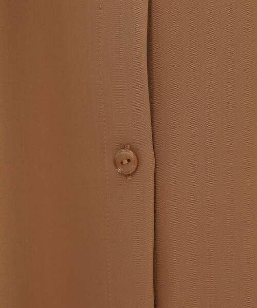 INDIVI(インディヴィ)の「【ハンドウォッシュ】ニットベスト×シャツワンピース アンサンブル(アンサンブル)」|詳細画像