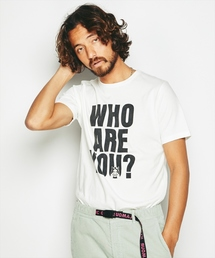 HYSTERIC GLAMOUR(ヒステリックグラマー)のWHO ARE YOU ? プリント Tシャツ(Tシャツ/カットソー)