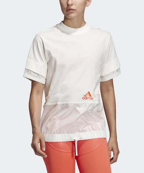 [adidas by Stella McCartney] クルーTシャツ [CREW TEE]