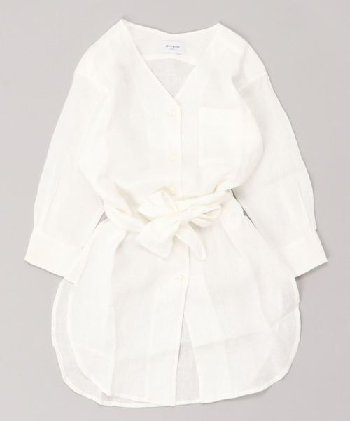 ARCH&LINE / フレンチリネン ドレス (100~145cm)