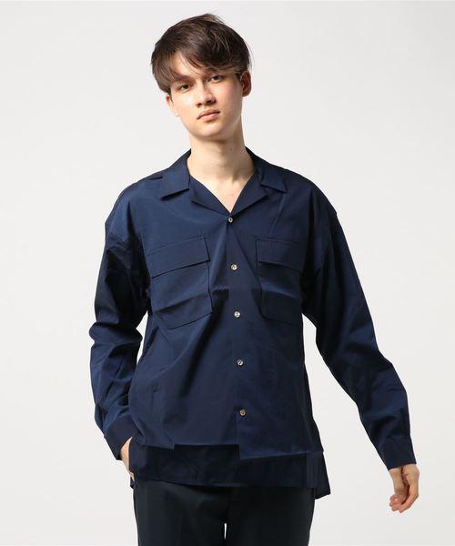 【激安アウトレット!】 【セール】CUPRA COTTON COTTON SHIRT RELAX SHIRT RELAX/ キュプラコットンリラックスシャツ(シャツ/ブラウス)|KATHARINE HAMNETT LONDON (キャサリンハムネットロンドン)のファッション通販, akibainpulse:47afaa68 --- steuergraefe.de