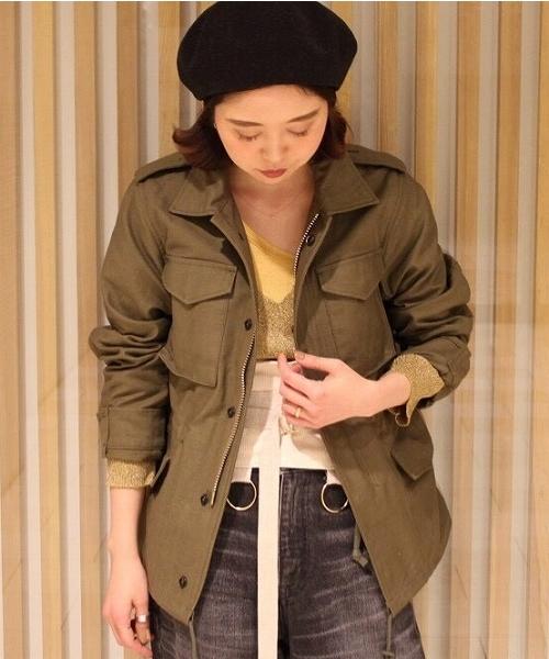 新しいコレクション 【セール/ブランド古着】ミリタリージャケット(ミリタリージャケット) HYKE(ハイク)のファッション通販 - USED, チトセシ:03b8d76e --- reizeninmaleisie.nl
