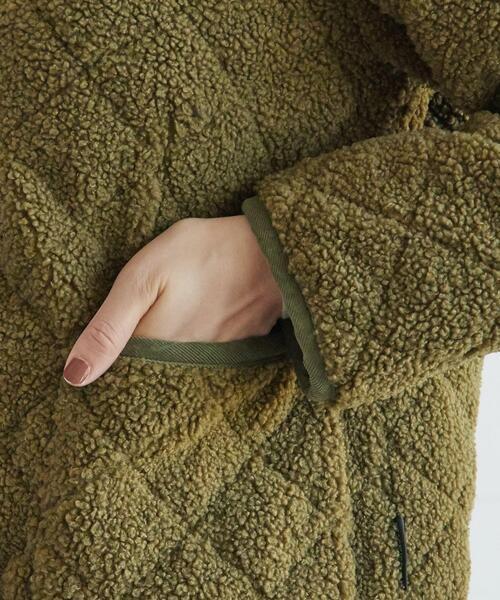 DRESSTERIOR(ドレステリア)の「Traditional Weatherwear(トラディショナル ウェザーウェア) ボアキルティングブルゾン(ブルゾン)」 詳細画像