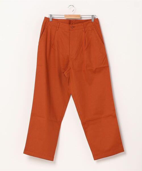 COP(シーオーピー)の「COP ウォッシュドコットンベルトパンツ(その他パンツ)」 オレンジ