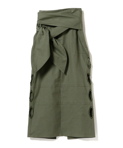 77circa × Ray BEAMS / 別注 ホール カット スカート