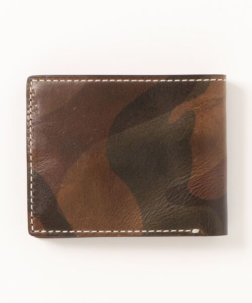 イタリアンレザー 迷彩柄財布 SPI SPW 002