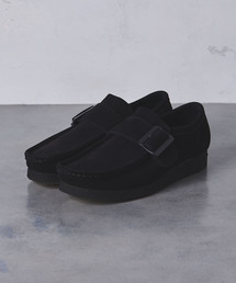 【別注】<Clarks(クラークス)> Wallabee Monk†