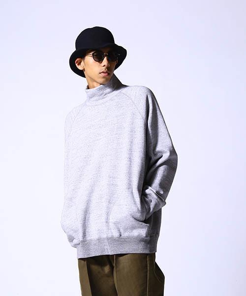 【一部予約販売】 GOLD / ゴールド:HIGH-NECK SWEAT SHIRT:GL68041[MUS], Jeans&Casual Noah 98dded42