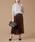 martinique(マルティニーク)の「martinique/チェックプリーツスカート(スカート)」|詳細画像