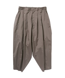 SPRING2020 CROPPED WIDE TAPERED PANTSグレー