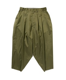 SPRING2020 CROPPED WIDE TAPERED PANTSカーキ