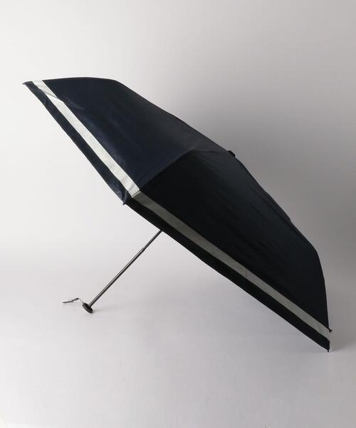 <because>Super Light リムボーダー 折りたたみ 日傘