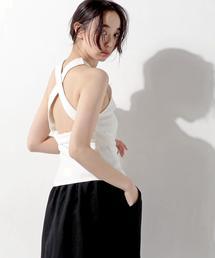 <ELIN(エリン)> バック クロス タンクトップ ◆