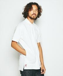 DEVIL刺繍 ビッグポロシャツ