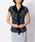 NARACAMICIE(ナラカミーチェ)の「ランダムドットプリントプリーツフリル半袖シャツ(Tシャツ/カットソー)」|詳細画像