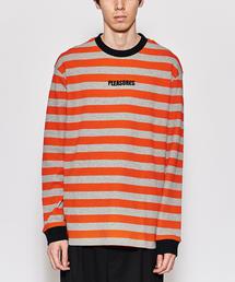<PLEASURES> PARADE WFL LSL/Tシャツ