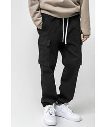 <monkey time> G/D ST SATIN DROPPED CARGO JOGGER/カーゴジョガーパンツ