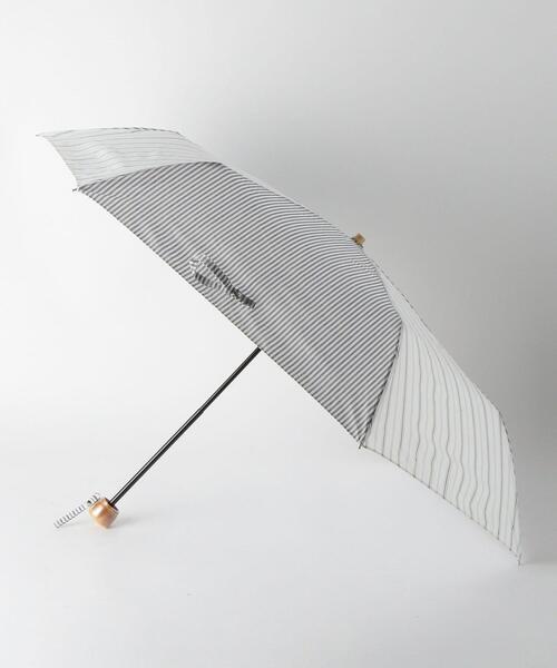 <because>2ストライプ 折りたたみ 日傘