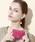 TOPKAPI(トプカピ)の「COLORATO[コロラート]角シボ型押し・名刺入れ(名刺入れ)」|ピンク