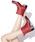 PATERNAZZI(パテルナッツィ)の「【PATERNAZZI/パテルナッツィ】イタリア製ショートレインブーツ(レインシューズ)」 レッド