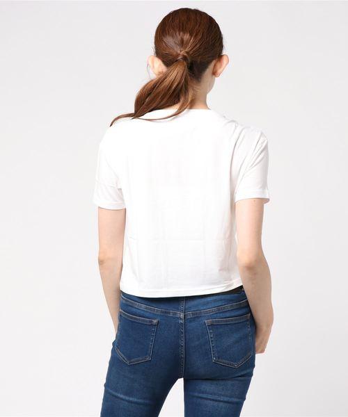 NBアスレチッククロップドTシャツ