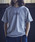 JACK & MARIE(ジャックアンドマリー)の「UNIVERSAL OVERALL × JACK & MARIE ベーシック ロゴTシャツ(Tシャツ/カットソー)」 グレー