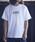 JACK & MARIE(ジャックアンドマリー)の「UNIVERSAL OVERALL × JACK & MARIE ベーシック ロゴTシャツ(Tシャツ/カットソー)」 ホワイト