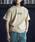JACK & MARIE(ジャックアンドマリー)の「UNIVERSAL OVERALL × JACK & MARIE ベーシック ロゴTシャツ(Tシャツ/カットソー)」 サンドベージュ