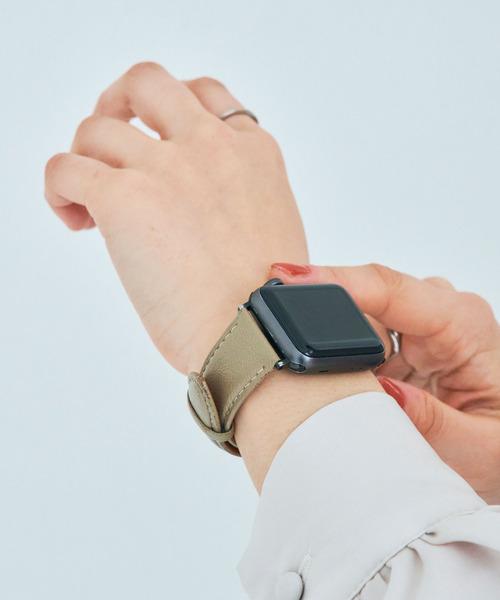 〈MACAROOON/マカルーン〉Apple Watch Belt/アップルウォッチベルト 38-40mm