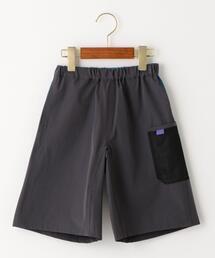 【ジュニア】〔撥水加工〕〔UVカット〕メッシュポケットショートパンツ