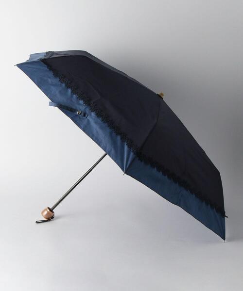 <because>フラワーレース 折りたたみ 日傘
