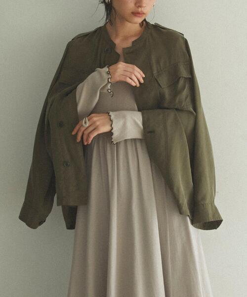 【EMMEL REFINES】【手洗可能】EM HW CUファティーグ シャツジャケット