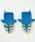 チャイハネ(チャイハネ)の「【チャイハネ】ハンドメイド★アニマルグローブ(手袋)」|アクア