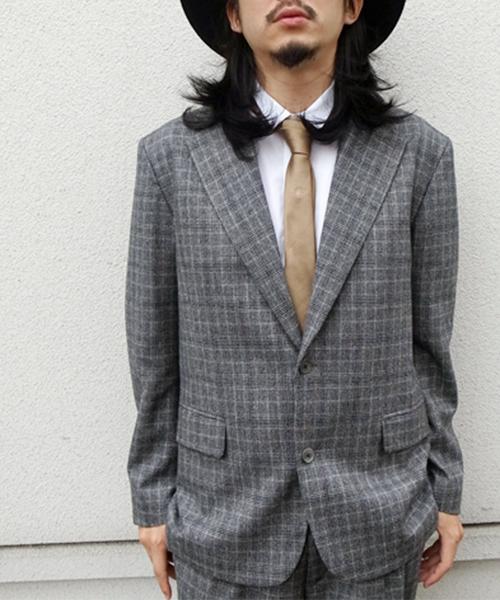 超人気新品 CHECK JACKET(テーラードジャケット) GDC(ジーディーシー)のファッション通販, コガシ:e0e9186b --- kredo24.ru