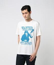 ACDC/$500 REWARDプリントTシャツ